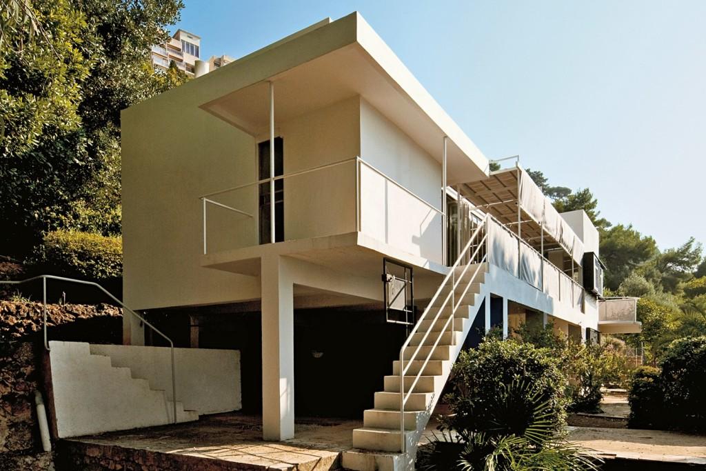 Villa E-1027 por Eileen Gray. Fuente- cntraveller.com