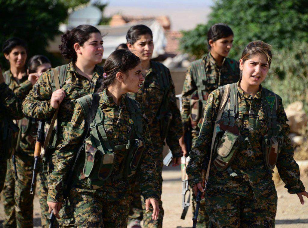 Women fighters of Kobane © free kurdistan